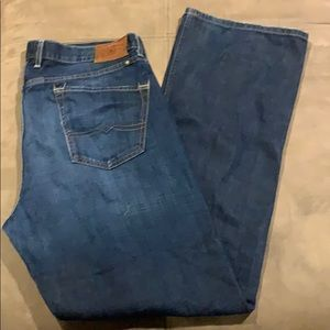 Men's Lucky Brand Jeans 227 Original Boot 38x34